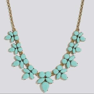 NWT J. Crew Teal Turquoise Mint Bib Necklace